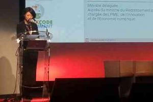 OpenWorldForum: vif �change entre Fleur Pellerin et l'adjoint au maire de Paris