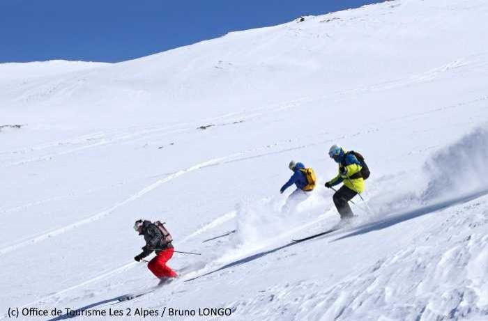 Les Deux Alpes proposent le haut-débit jusqu'en haut des pistes