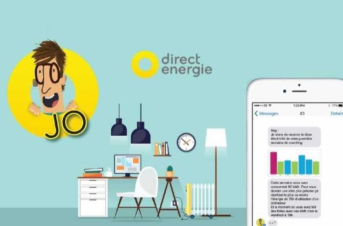 Direct Energie mise sur Jo le Chatbot pour sa relation client