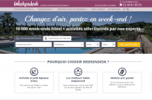 Le comportement des clients n'a plus de secret pour Weekendesk