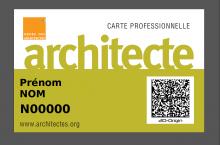 Les architectes certifi�s par des codes 2D-Origin