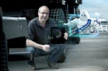 Michelin utilise le pneu connect� pour faciliter la gestion de flottes de v�hicules