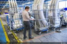 Airbus traque ses pièces détachées en bas débit sans fil