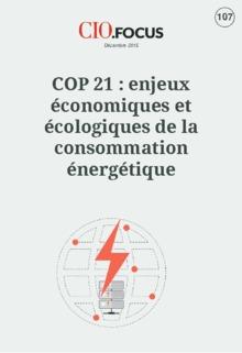 COP 21 : enjeux �conomiques et �cologiques de la consommation �nerg�tique