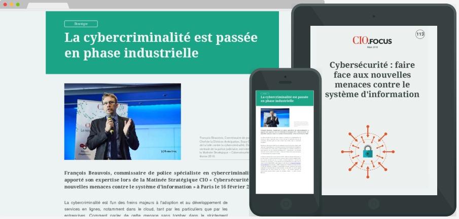 Cybersécurité : faire face aux nouvelles menaces contre le système d'information