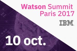 Watson Summit Paris, le 10 octobre au Carrousel du Louvre