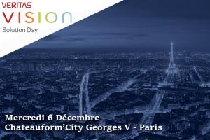Gestion de la donnée à 360 - Veritas Vision Solution Day - 6 décembre 2017