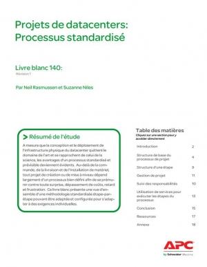 Projets de datacenters: Processus standardisé