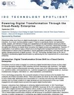 IDC : L'enterprise prête pour le cloud, une condition de la transformation digitale