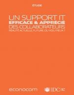 [Etude] Un support IT efficace et apprécié des collaborateurs, réalité actuelle, future, ou voeu pieux ?