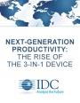 Etude IDC : « la montée en puissance du périphérique 3-en-1 »