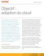 Objectif : Adoption du Cloud
