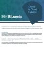 IBM Bluemix : Choisir le cloud Hybride