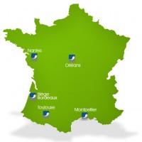 Outre son siège bordelais, CIS Valley possède également quatre agences en France.