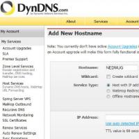 DynsDNS est un service permettant notamment d'assurer un routage correct du trafic web. (crédit : D.R.)