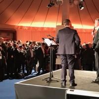 Le 8 mars dernier, la soirée de remise des Trophées de la Distribution 2017 a réuni près de 600 personnes. Crédit photo : D.R.
