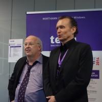 Siegbert Wortmann PDG de Wortmann AG, et Ben Gayer, directeur de Terra Computer France.