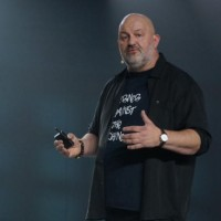 Werner Vogels, le CTO d'Amazon, lors de sa keynote à l'AWS Summit à San Francisco le 19 avril 2017.(Blair Hanley Frank/IDGNS)
