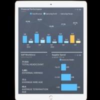 SAP va proposer une app iOS pour accéder à son service Analytics Cloud. (crédit : D.R.)