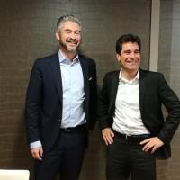 Stéphane Barberet et Stéphane Huet se partagent les activités de Dell EMC en France, avec la partie Enterprise pour le premier, et l'entité Commercial pour le second. (Crédit S.L.)
