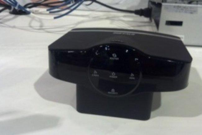 Au dernier CES, Buffalo a exhib� un prototype de routeur 802.11 ac offrant un d�bit de 800 Mbit/s