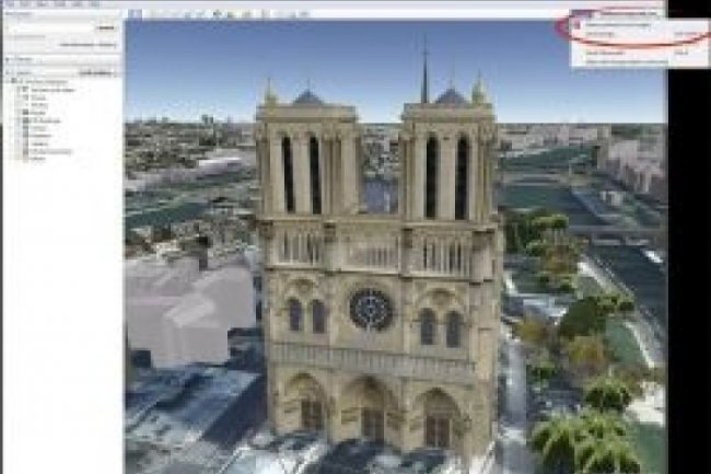 Google Earth 6.2 affine ses images