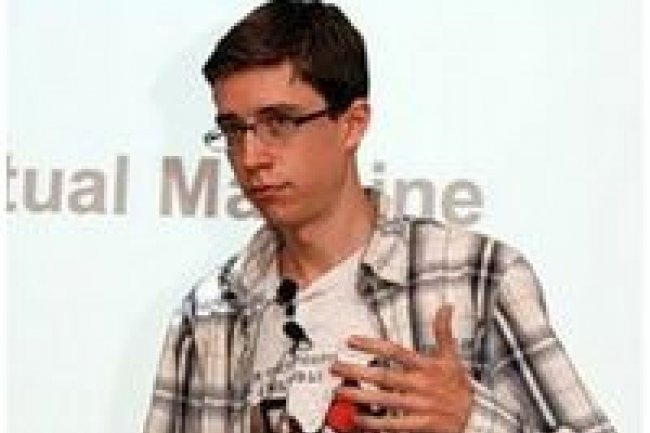 Thomas Wuerthinger, de Oracle Labs, a pr�sent� Graal lors du JVM Language Summit en juillet 2011 (source : D.R.)