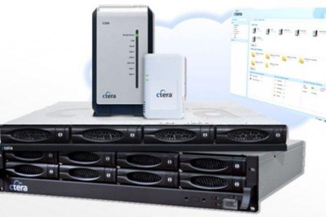 Silicon Valley 2012 : Ctera combine NAS, sauvegarde cloud et gestion centralisée