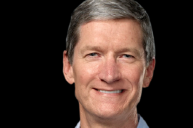 Tim Cook, PDG d'Apple. Crédit photo: Apple