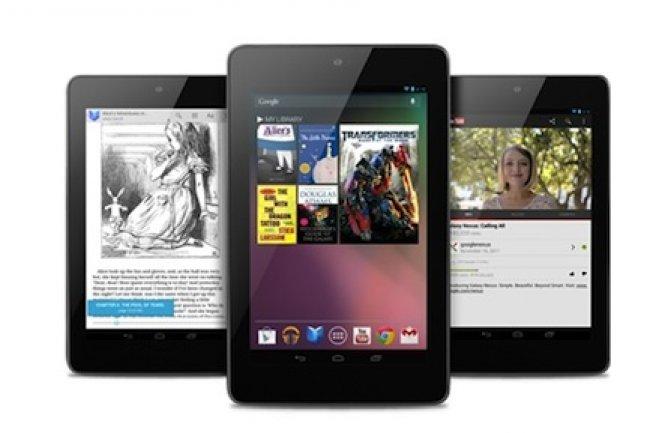 La tablette Nexus 7 devrait �tre propos�e � partir de 199 � en France