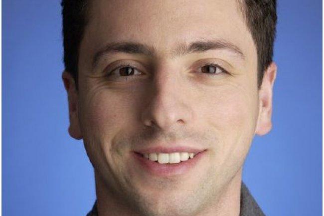 Sergey Brin, co-fondateur de Google, dirige l'�quipe qui travaille sur le projet de voitures autonomes. (cr�dit : Google)