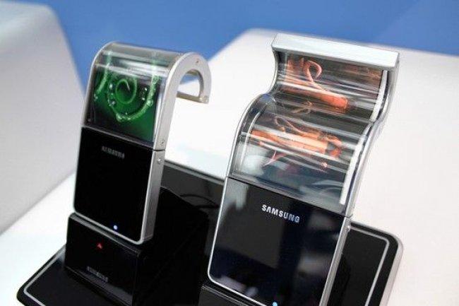 Le projet Samsung Youm de terminaux � �cran flexible.