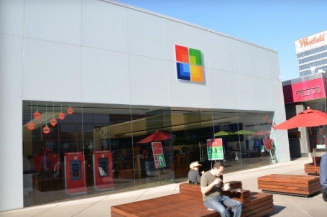 La 1e boutique Microsoft attendue � Londres