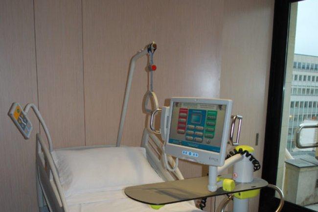 Ex de lit hospitalier propos� par Econocom Cr�dit Photo: D.R