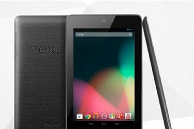 Test Google Nexus 7 : la bonne surprise de cette fin d'ann�e