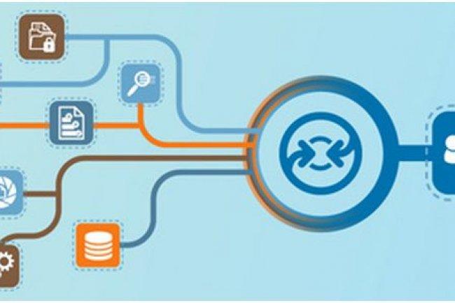 Avec son logiciel InfoFusion, OpenText cherche � f�d�rer les contenus d'entreprise dans son r�f�rentiel. Une solution qui pourra servir � faire migrer des offres concurrentes. (cr�dit : OpenText)