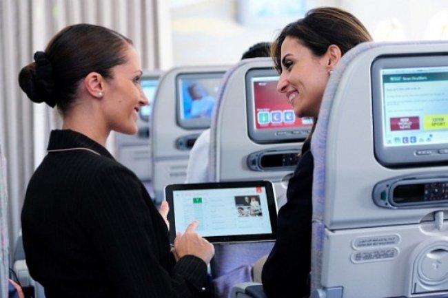 Emirates teste des tablettes HP sous Windows 8 pour l'exp�rience client