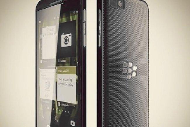 Le Blackberry Z10 est lui aussi �quip�e d'une puce NFC
