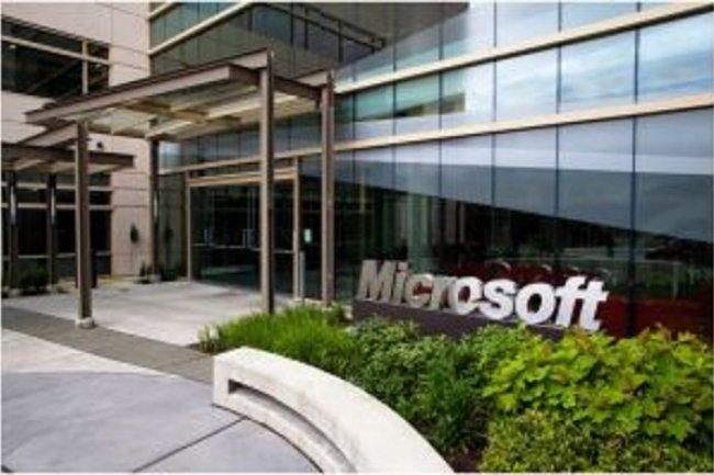 Le siège social de Microsoft à Redmond  (crédit : D.R.)