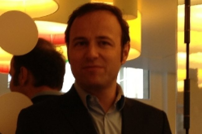 Pierre Barnab�, Directeur G�n�ral de SFR Business Team