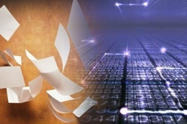 Le papier supplanté par les e-mails dans les entreprises