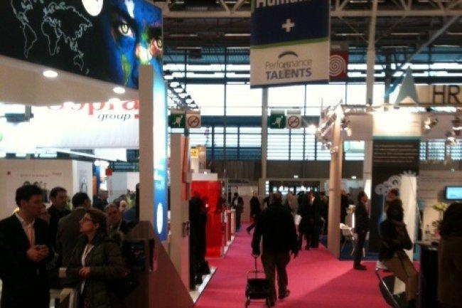 Le salon Solutions Ressources Humaines se d�roule pendant 3 jours au parc des expositions de Paris, porte de Versailles.  Cr�dit: D.R