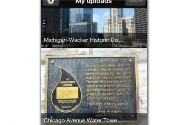L'application Wikimedia Commons permet de soumettre des photos libres depuis son smartphone.