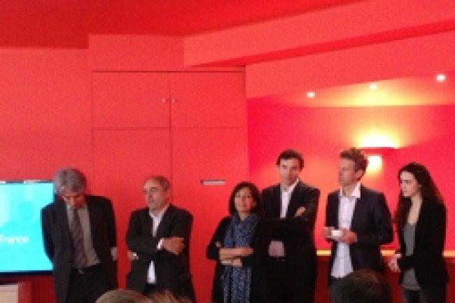 De g � d: J.Boutault, J.L Missika, A.Hidalgo, J.Ferr�, G.Babinet et R.Varza