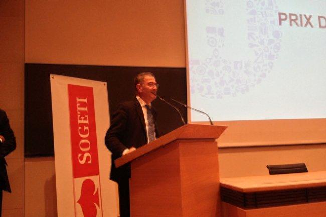 Le prix Nobel de physique en 2012, Serge Haroche a remis le prix D�fi H 2013