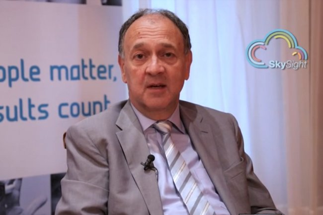 Paul Hermelin, PDG de Capgemini, vient d'annoncer une offre de services cloud qui sera disponible au niveau mondial.