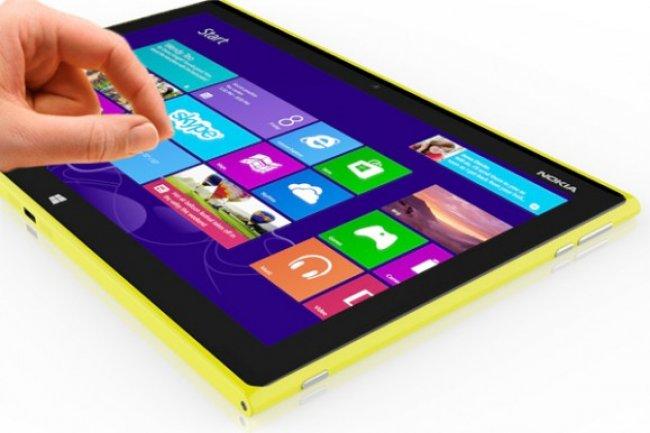 Avec sa tablette Windows 8.1 empruntant son design aux Lumia, Nokia vient épauler Microsoft.