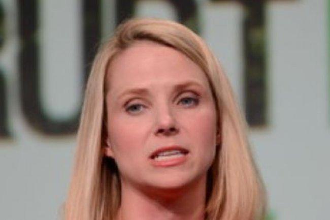 La dirigeante de Yahoo, Marissa Meyer. Crédit: IDG NS