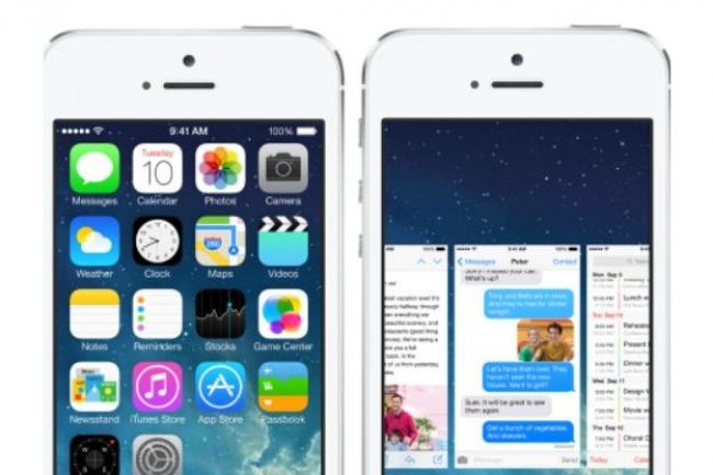 D�j� en test, iOS 7.1 devrait supporter les prochains iPad. Cr�dit: D.R