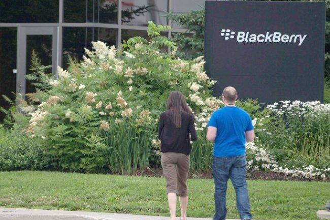 Le siège de Blackberry à Waterloo dans la province de l'Ontario. Crédit D.R.